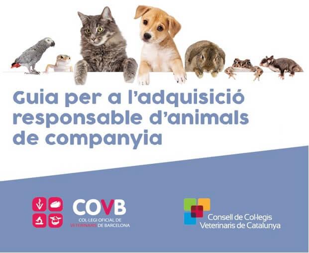 """""""Guia per a l'adquisició responsable d'animals de companyia"""" del COVB"""